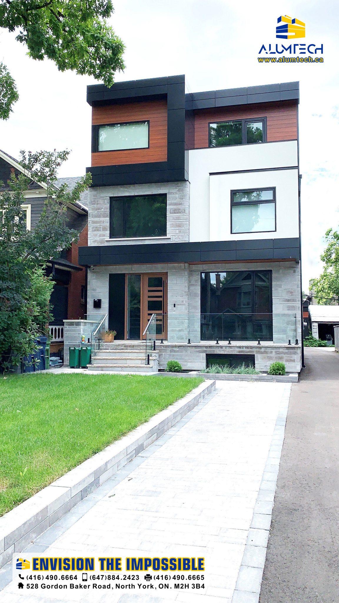 222 Wychwood Ave, 2, acm panels, aluminum composite panel