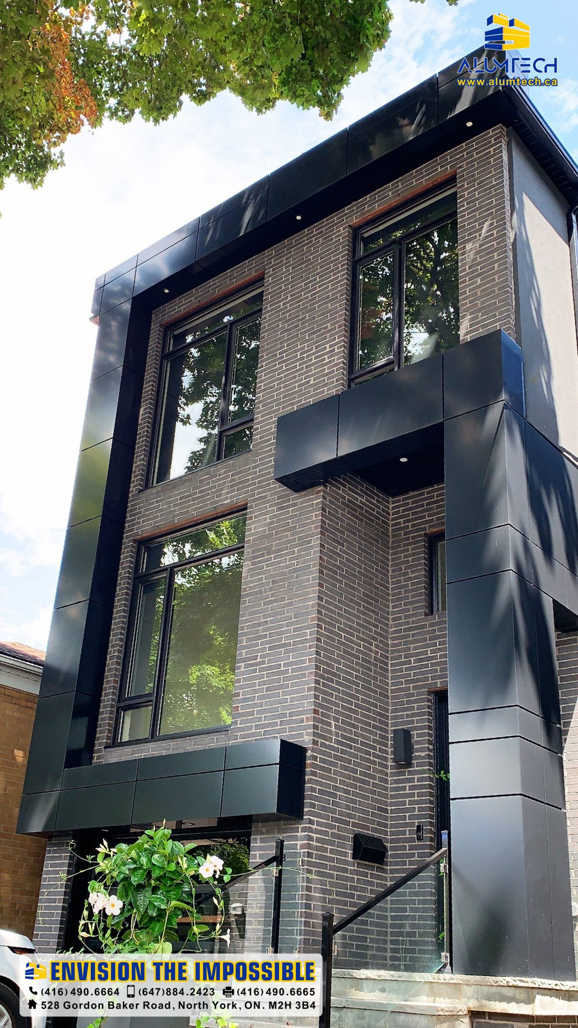 57 Roseneath Gdns 2, acm panels, aluminum composite panel