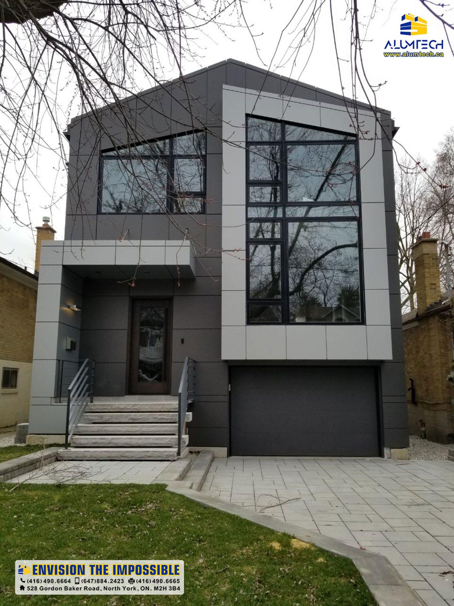 Alumtech residential ACP cladding