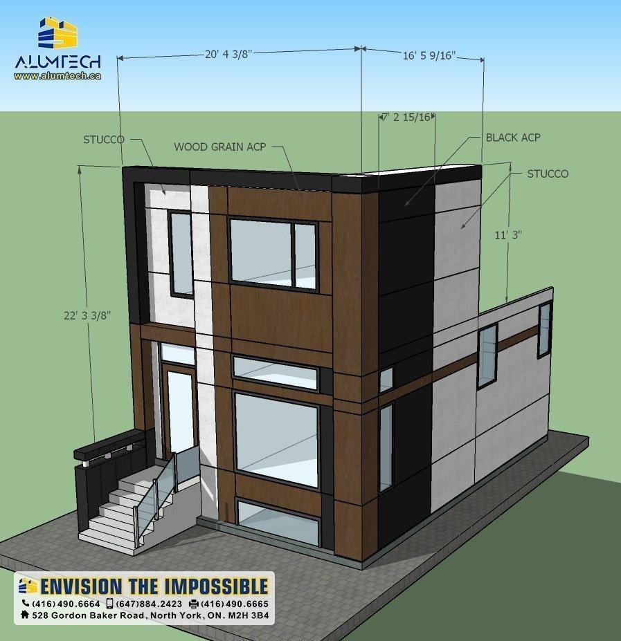 Alumtech 3D design and Rending