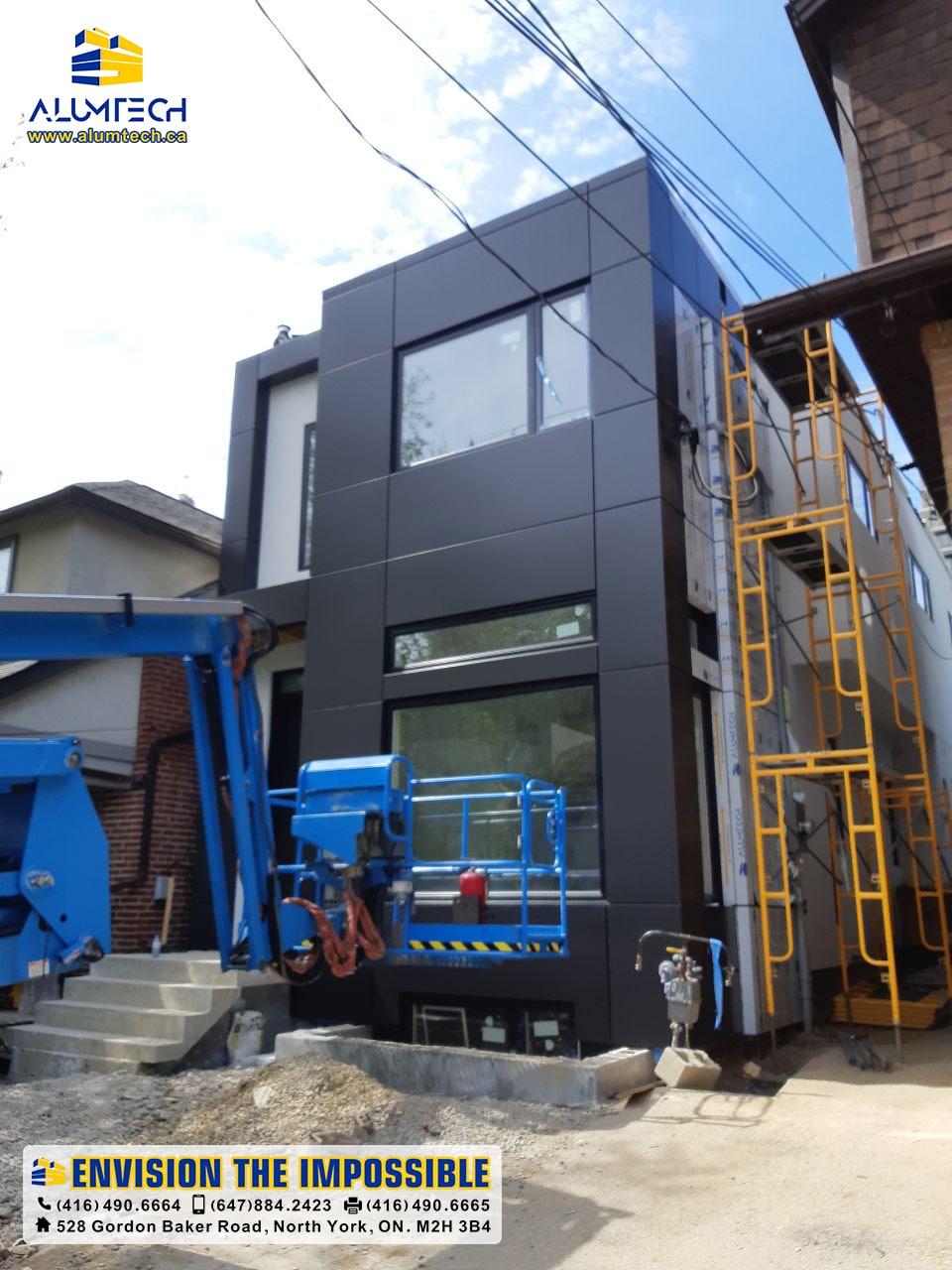 acp acm aluminum composite panels Alumtech residential projects (4)