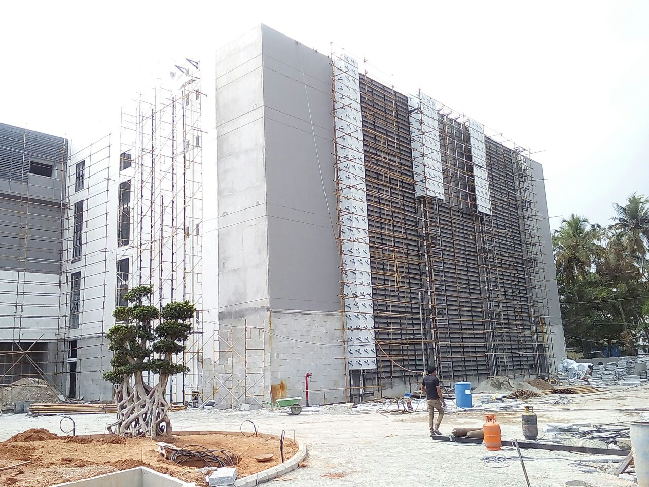 Aluminum Composite Panels Installing