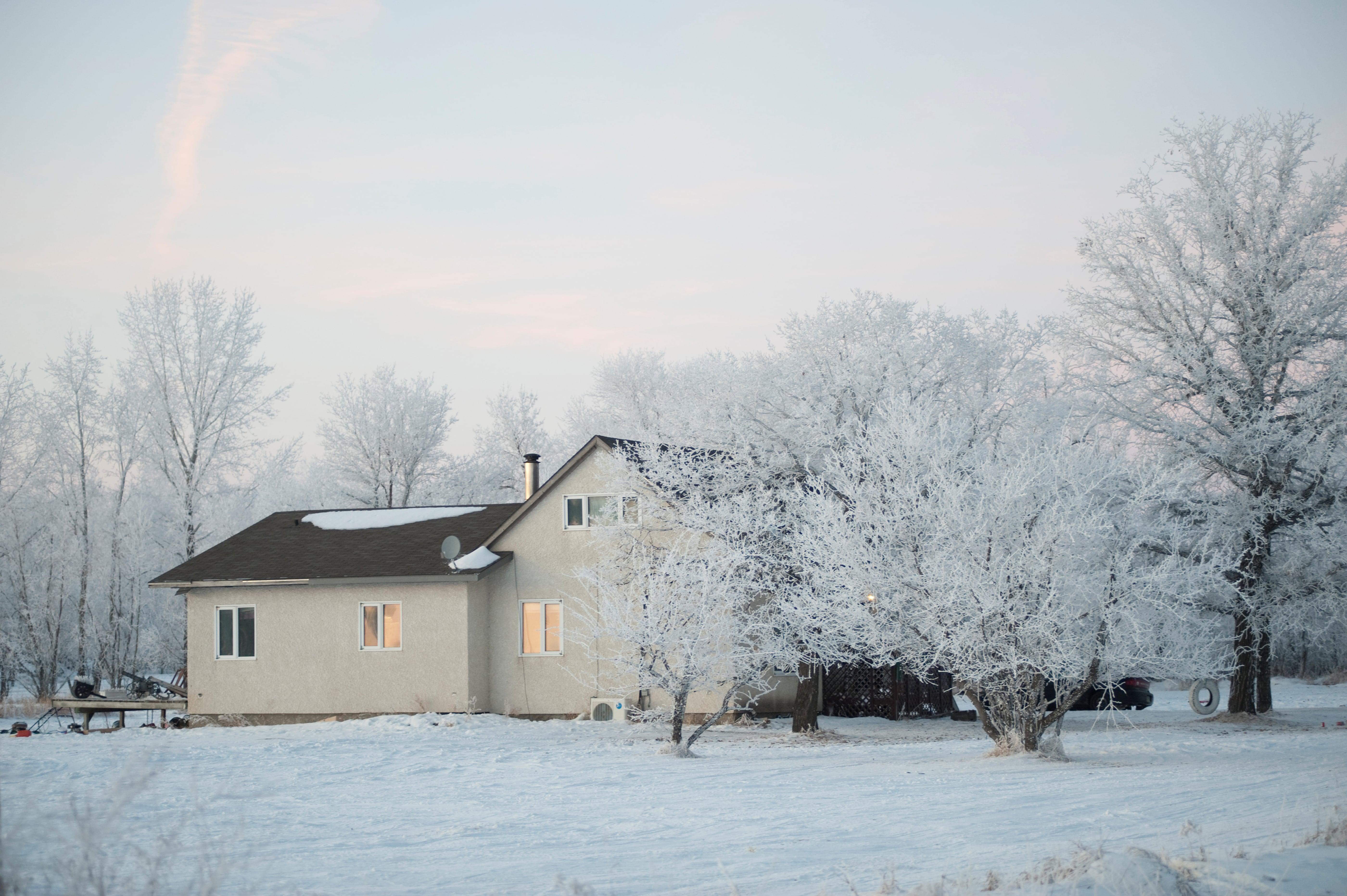 Canada winter building materials