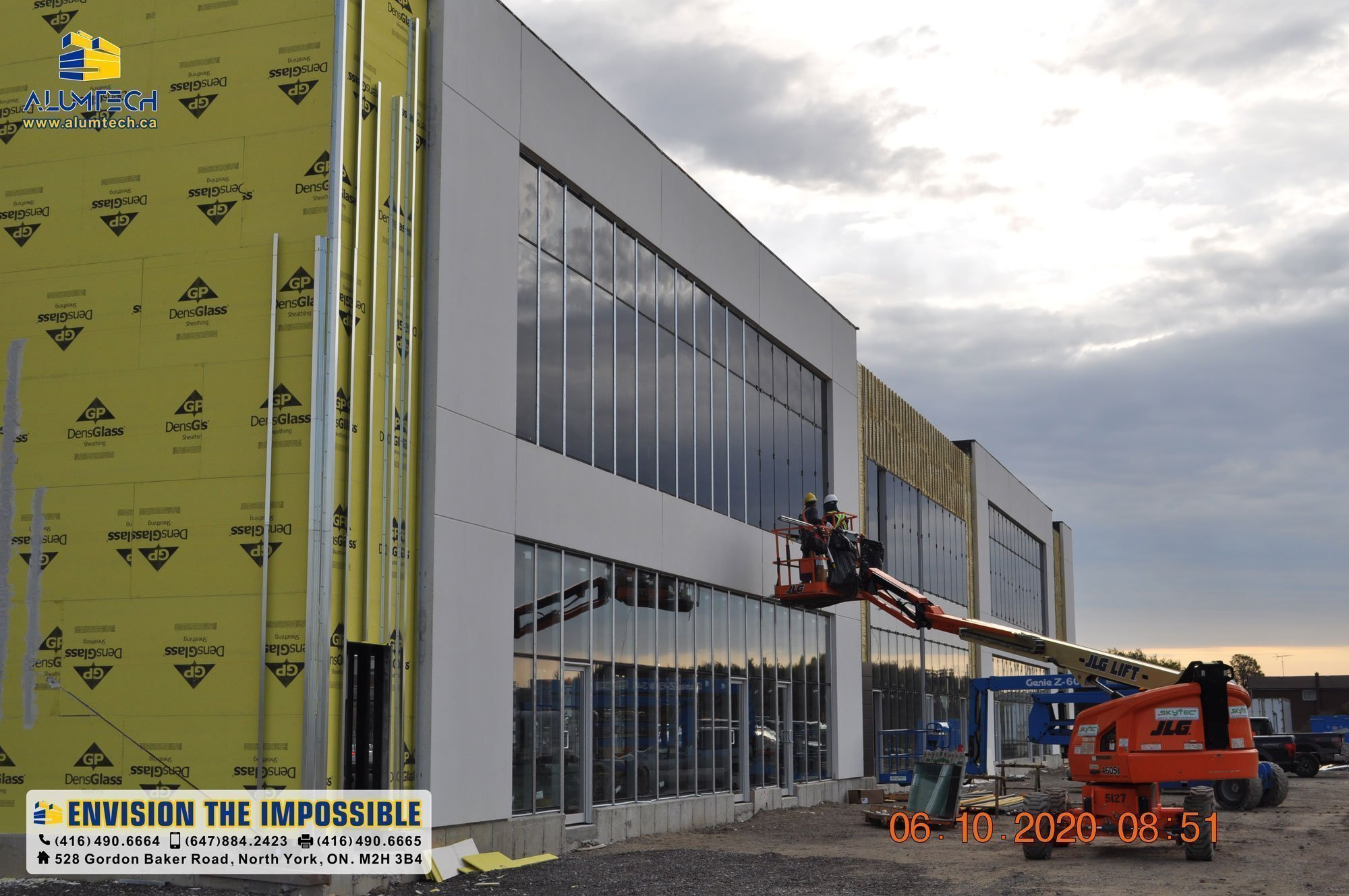 aluminum composite panels cladding
