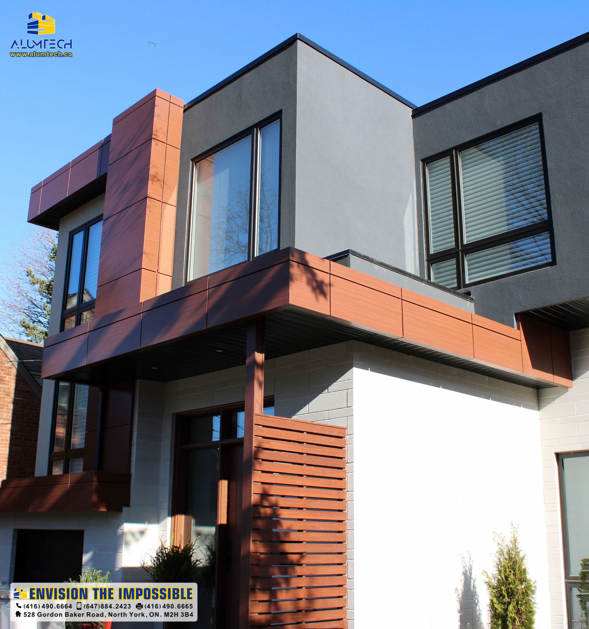 Woodgrain ACP, perfect alternative to natural wood in humid areas