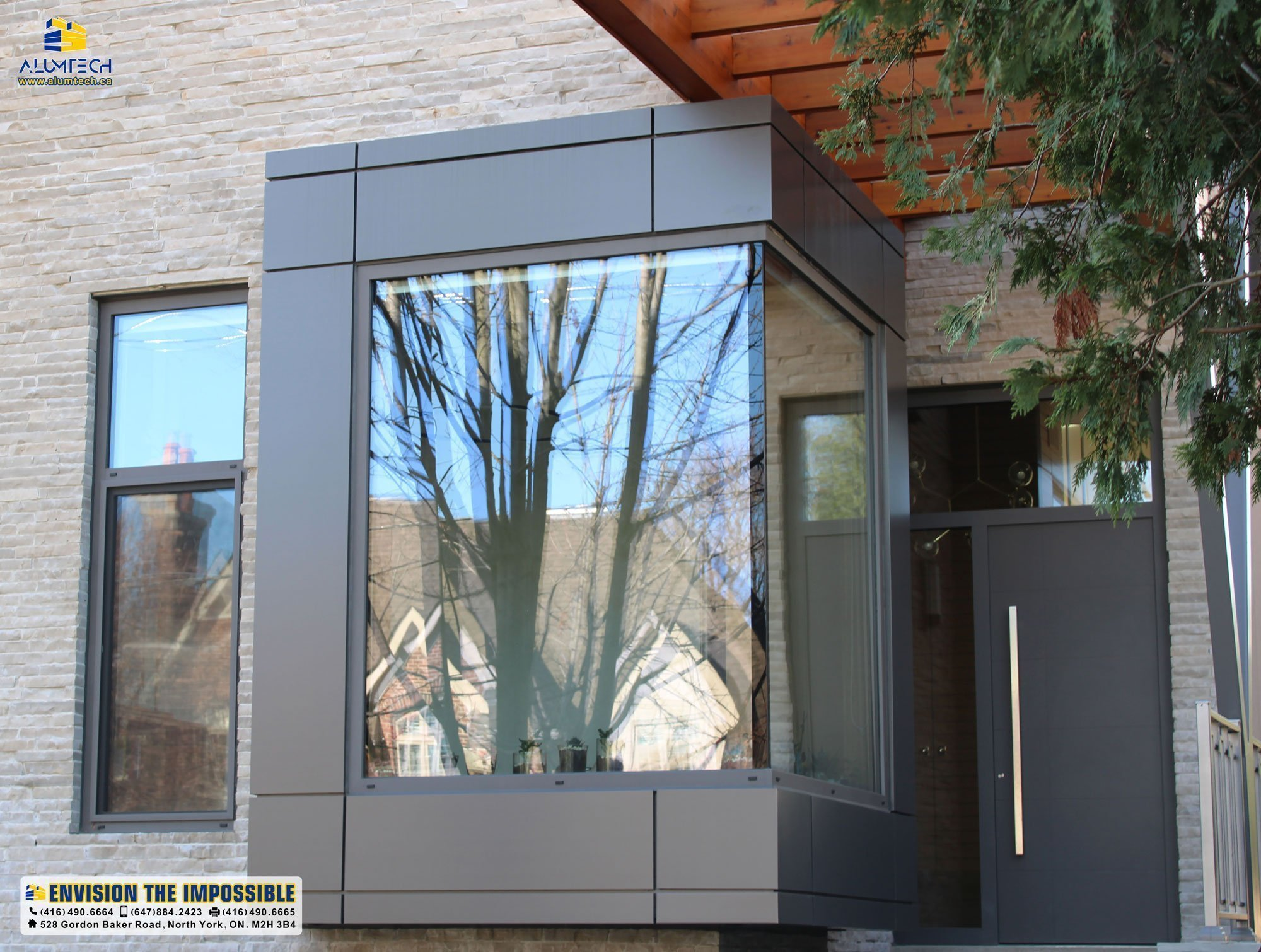 Transfer the traditio1nal look of the building to a modern with ACP/ACM panels